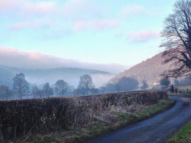 Llwynmawr Back Road