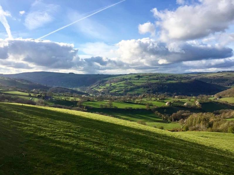 Valley from Selattyn