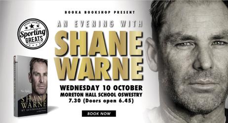 Booka Shane Warne Event