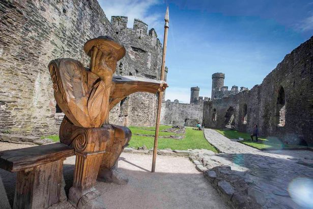 The Guard, Conwy Castle